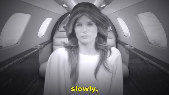Find out why Melania would turn in Donald and swipe to the right to see her whistling loud and clear, #faceswap style. 💋 Put down your food and turn up the volume when you're watching this. You'll thank me later. 💋 . Voiceover is a direct quotes by #Sartre from Nausea. . Shot by @jeff_new_york . . . . . . . . . . . TAGS  #mondayswithmelania #melaniatrump  #stephencolbert #jimmykimmel #johnoliver #dumptrump #trumpdump #notmypresident  #melaniainterview #politicalcomedy #satire #parody #trumpimpersonator #stephencolbert #jimmykimmel #johnoliver #dumptrump #trumpdump #funnyvideo #funnywomen #commedia  #nyccomedy #quirkyart #funnyvid  #womenincomedy #laurenlogi #snl #lilytomlin #sachabaroncohen #UCB #catherinetate  @madein_ny #sartre  #existentialism #existentialcrisis