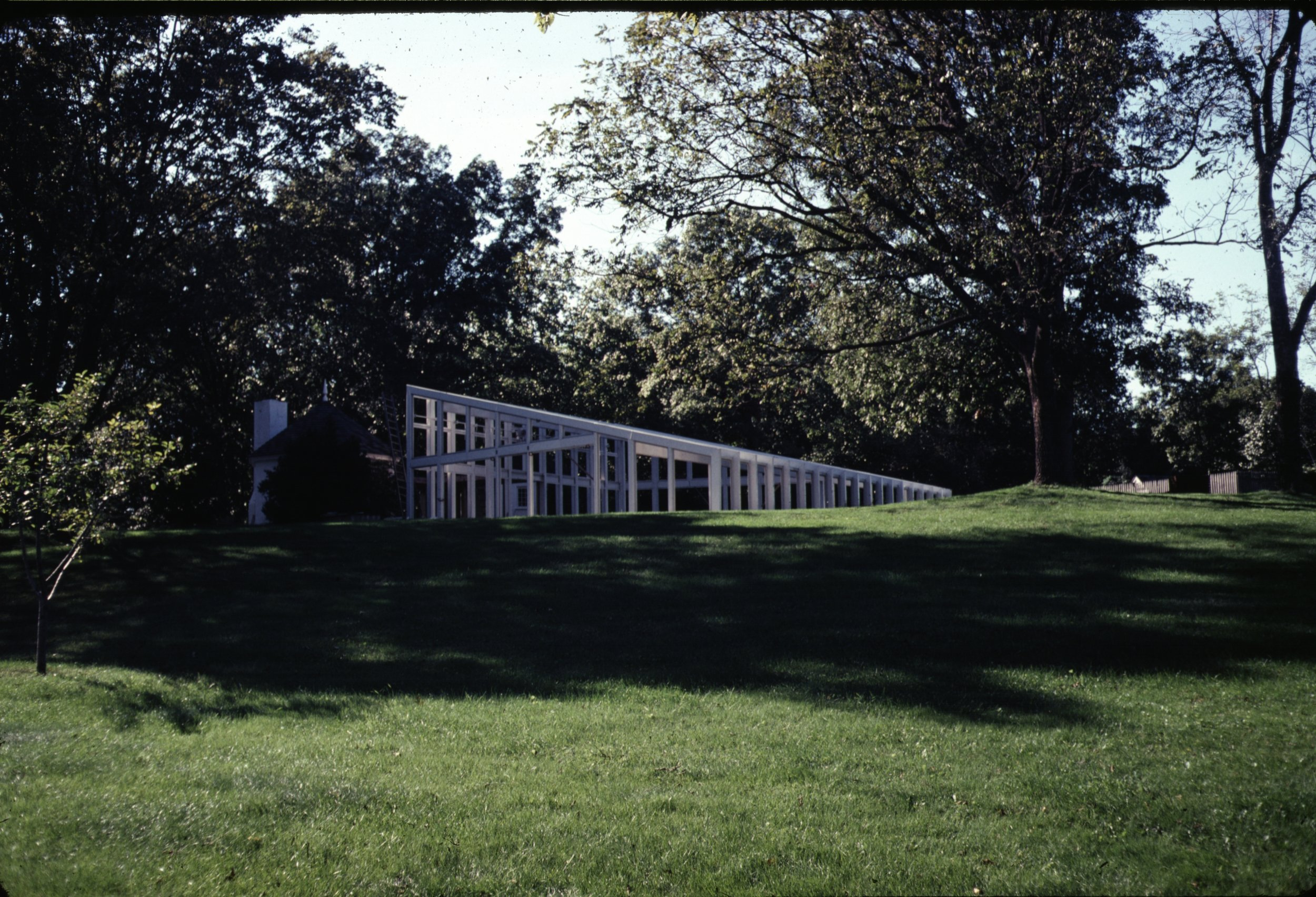 The Mellon Pool House