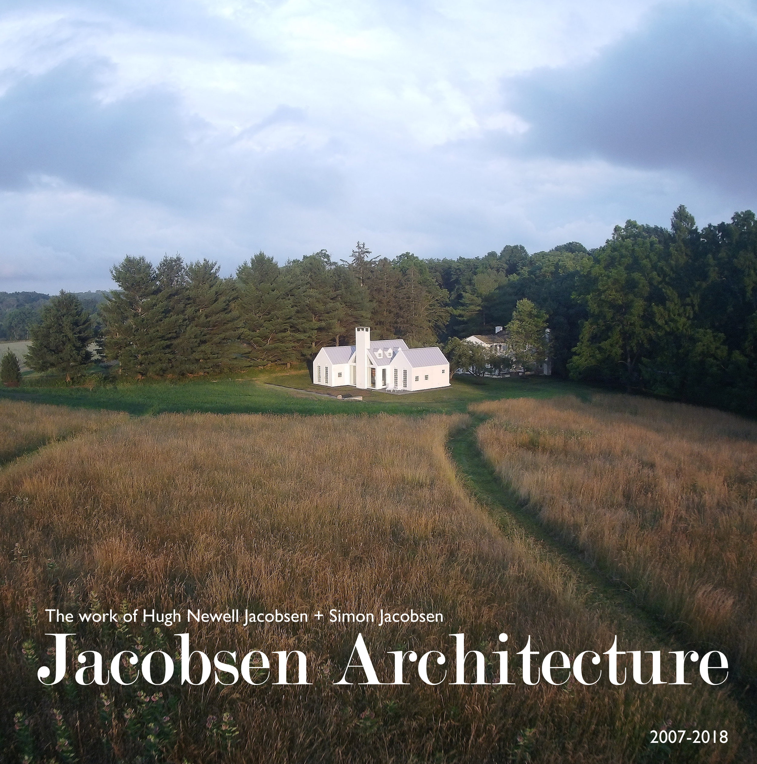 Jacobsen Book IV in development... - The firm is wrapping up and shooting the remaining projects that will be the fourth book on the firm's latest work entitled