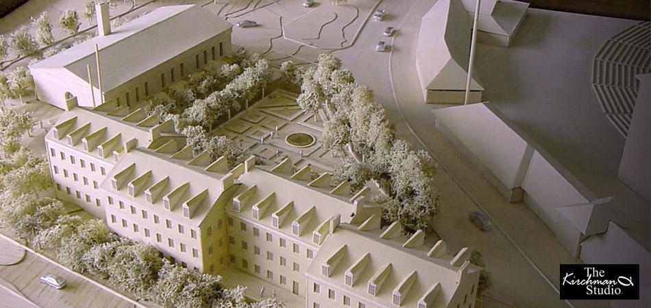 Model: University of Maryland Alumni Center.