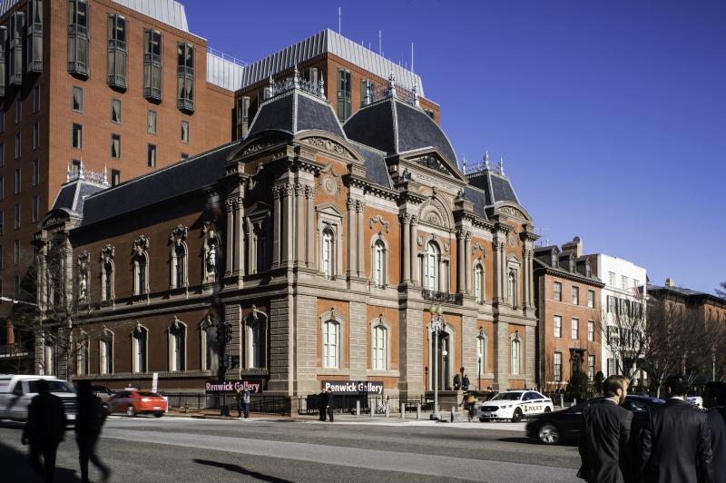 The Smithsonian's Renwick Gallery, Washington, D.C.