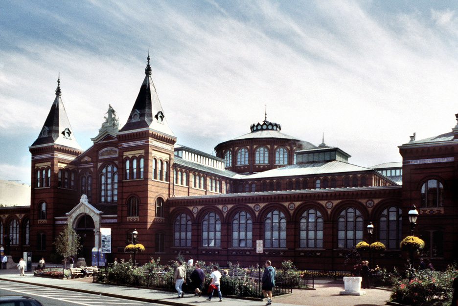 The Smithsonian's Arts & Industry Museum.