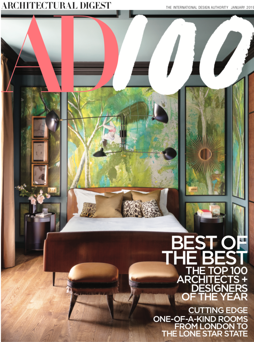 """Hugh and Simon Jacobsen are delighted to be held in such high regard by Architectural Digest in their 2019 listing of The """"AD100"""". Jacobsen Architecture is one of the longest running recipients of this prestigious award. -"""