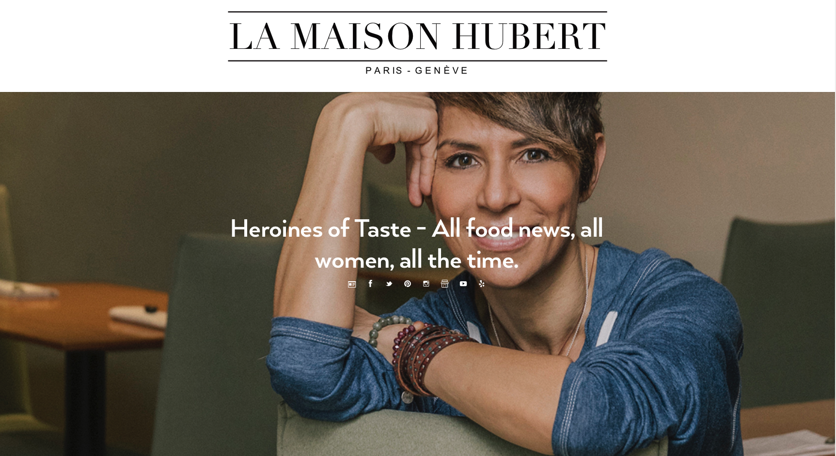 This curation blog developed with Tumblr for La Maison Hubert is a live showcase of all the food news and social media content celebrating women changing the face of gastronomy around the globe.
