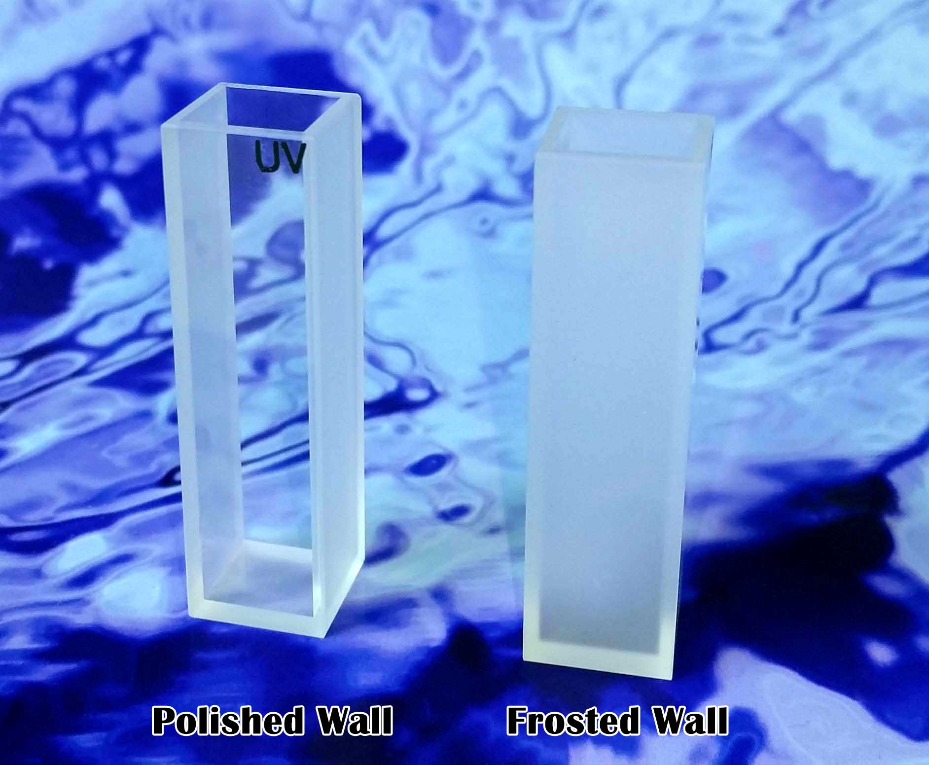 Polished vs frosted walls