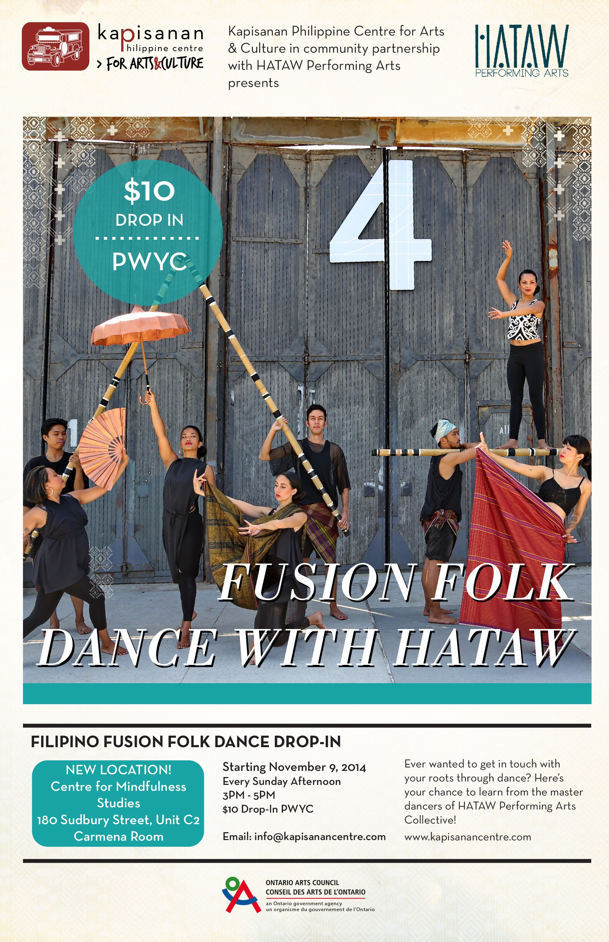 HATAW Fusion Folk Dance Workshops