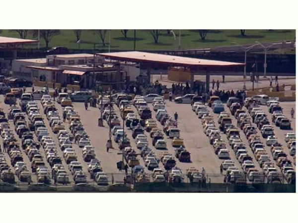 Chicago Airport Taxi Protest