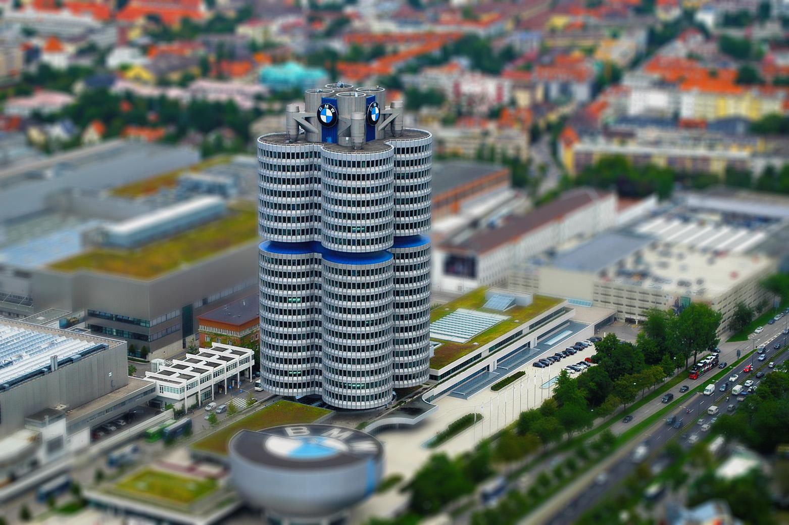 Tiny BMW Headquarters