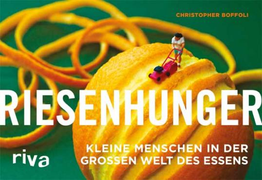 Zesty Mower on the bestselling Germany edition of Big Appetites 'Riesenhunger' published in 2014.