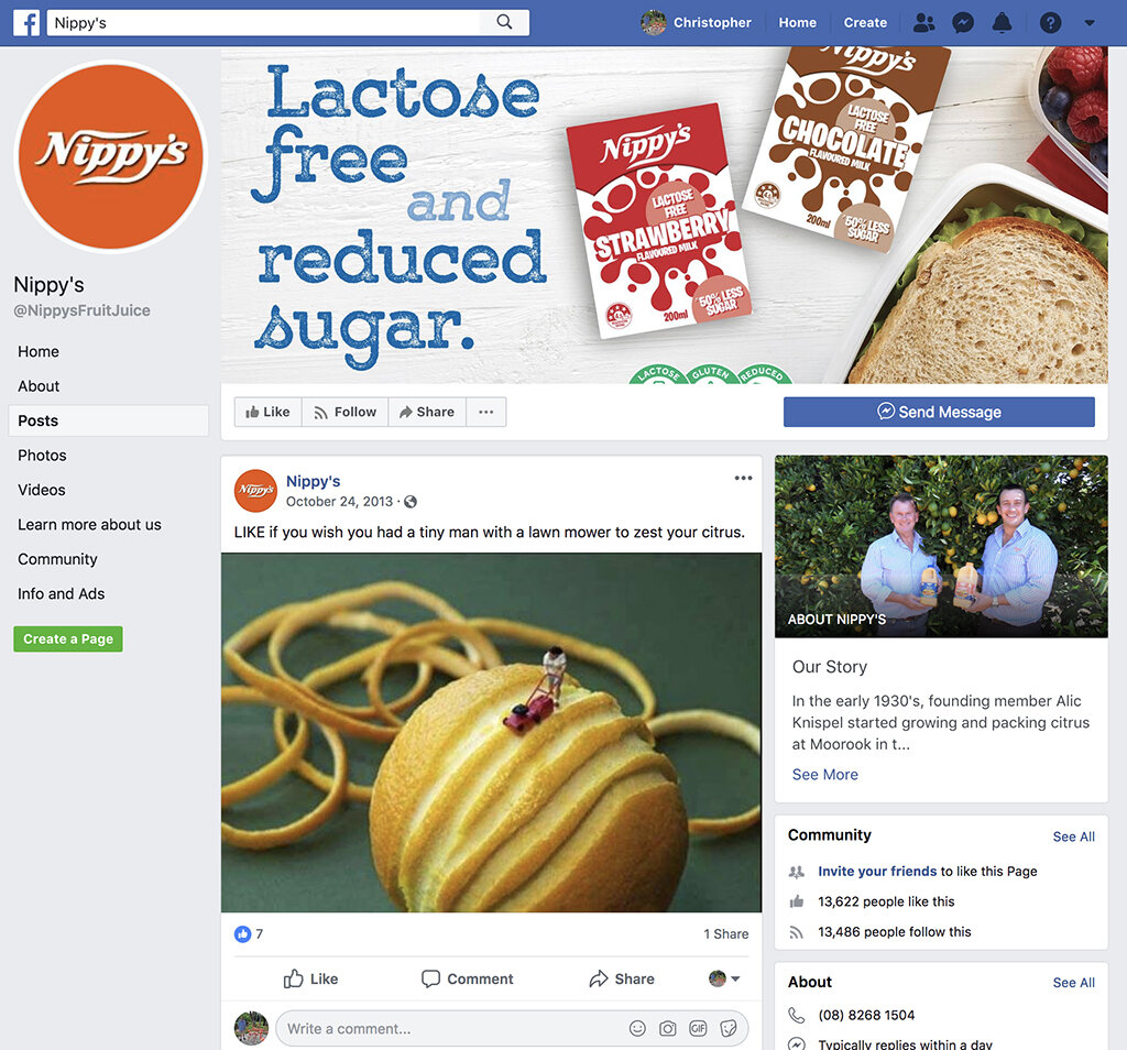 Companies frequently use my copyrighted images (without permission, license or attribution) on their social media accounts, exploiting my work as free content with which to draw traffic, interest and attention to their own brands. As with the case or Mr. Jansma's infringement, the fact that no attribution or credit was included makes it much more difficult to track down the infringements, meaning the image might be in use for years before the infringement is removed.