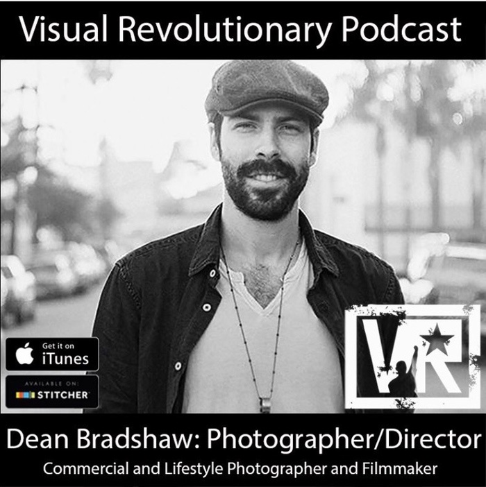 - Episode 80: Dean Bradshaw / Commercial and Lifestyle Photographer and Director - On this episode of the podcast commercial and lifestyle photographer and filmmaker Dean Bradshaw talks about stepping past the fear of changing a certain aesthetic that has made you successful to pursue your own changing tastes, how he became involved in filmmaking and how that influenced his photography, the challenges of the current era of photography and content and how young people need to value their own work, and advice he gives to others coming up in this industry.