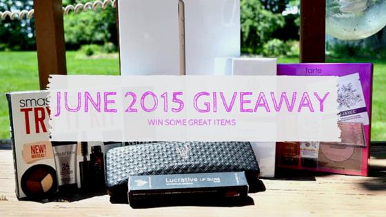 June 2015 Giveaway