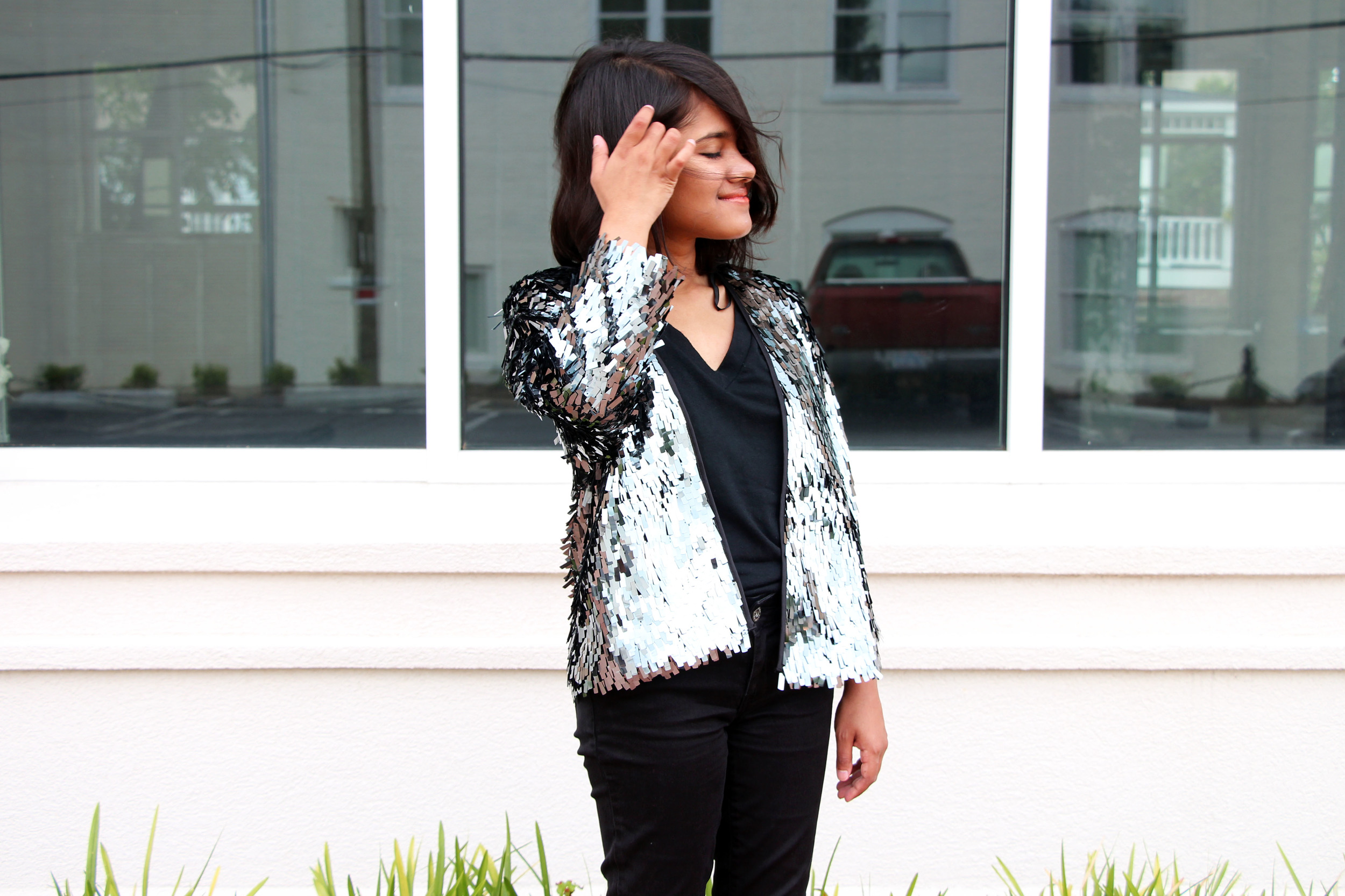 tom-haverford - loud formal - sequin jacket