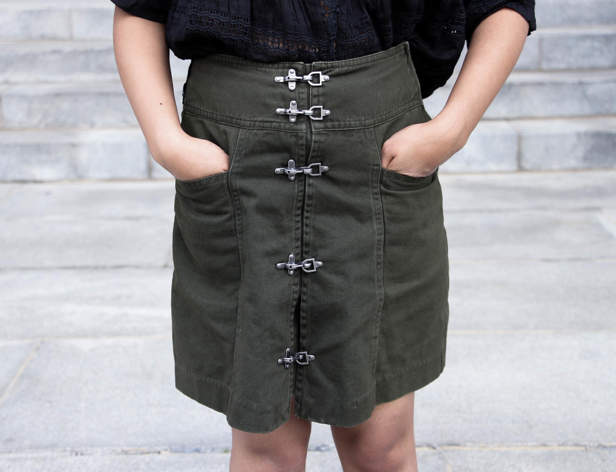 Nasty Gal Utility Skirt