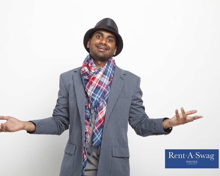 Tom Haverford Rent A Swag - Jetting Around