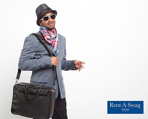 Tom Haverford Style Rent-A-Swag - Jetting Around