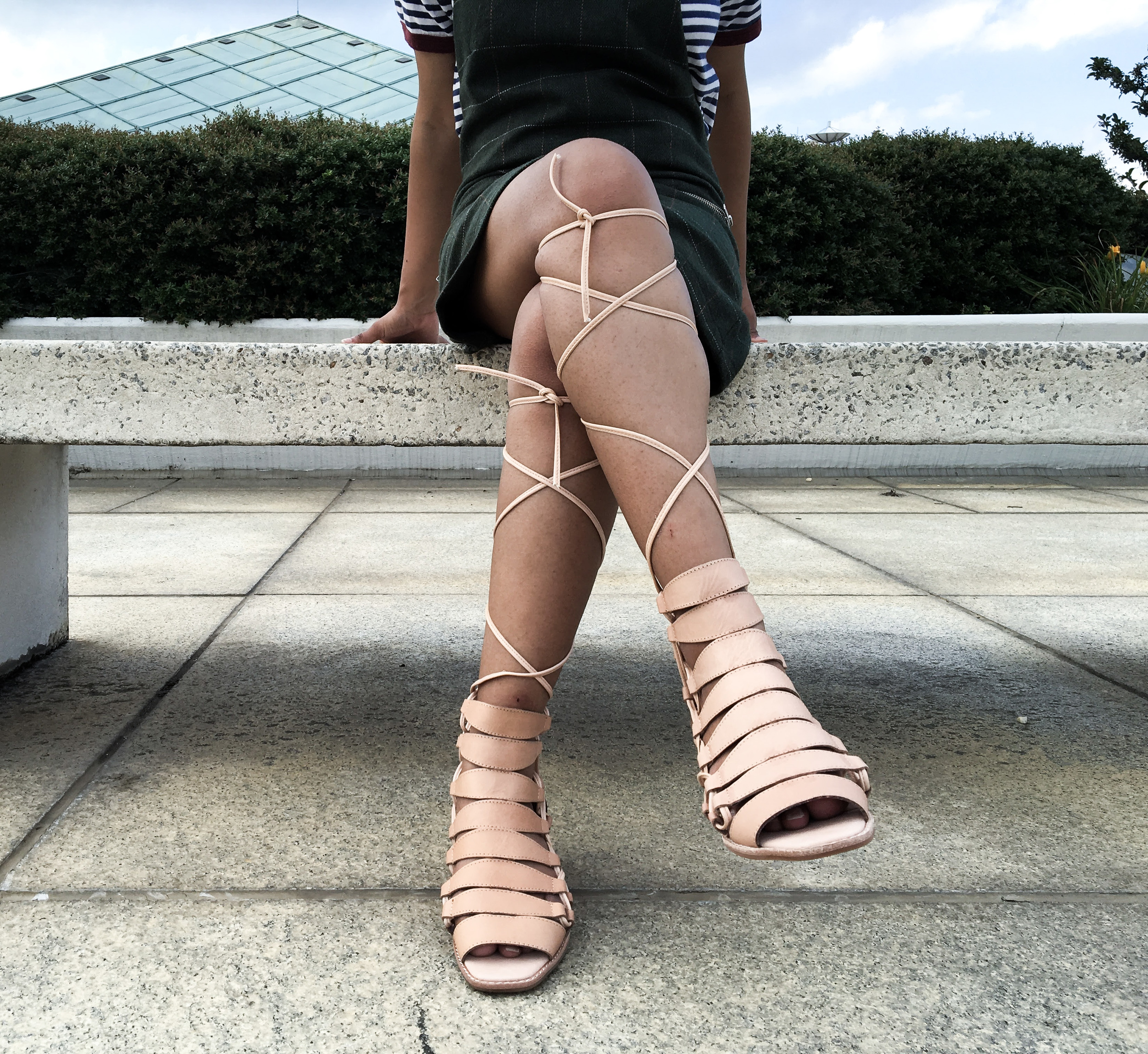 Jeffrey Campbell Zaferia Gladiator Sandals