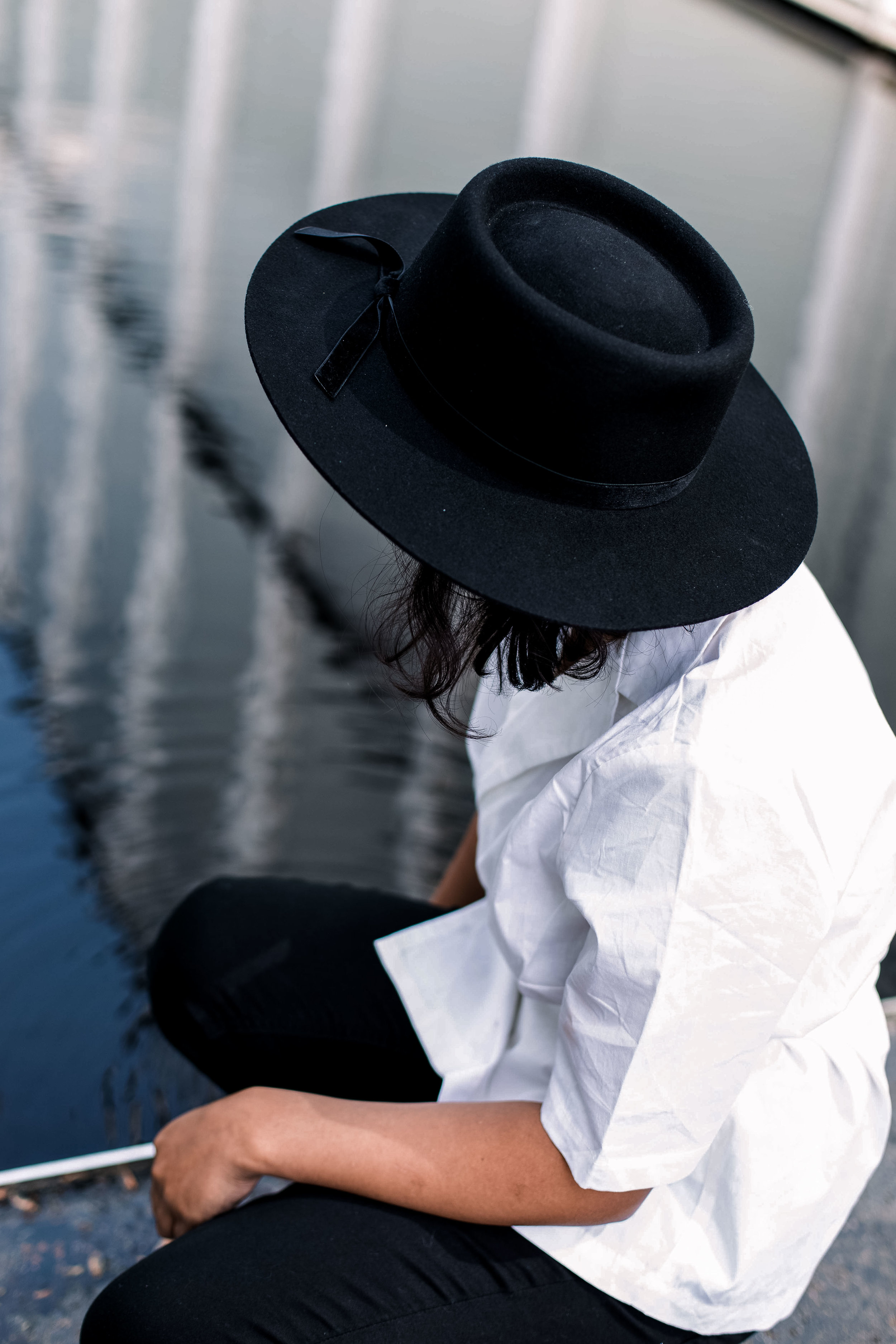 Lack of Colour Velveteen Hat