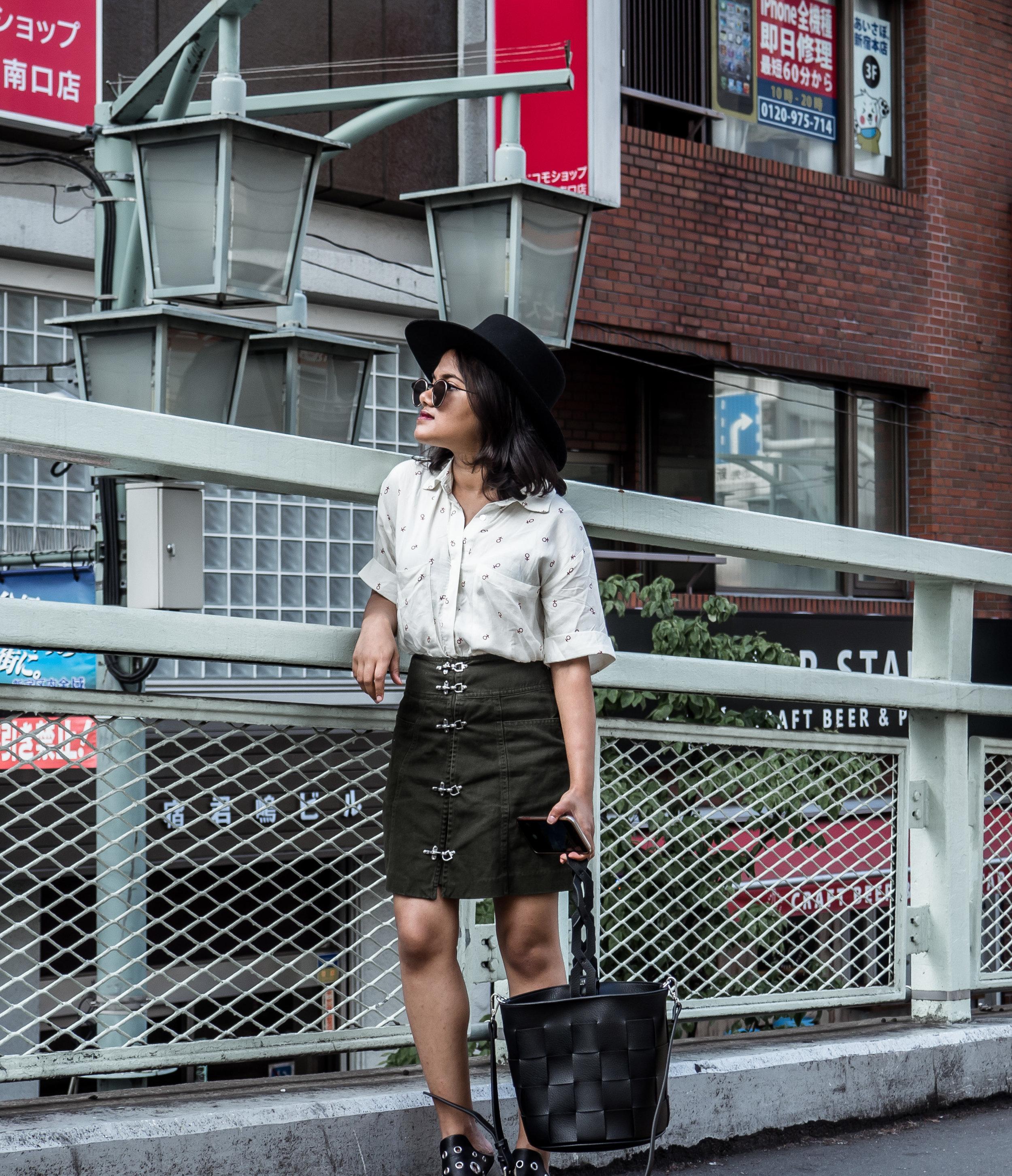 Knot Sister Future is Female Shirt in Shinjuku