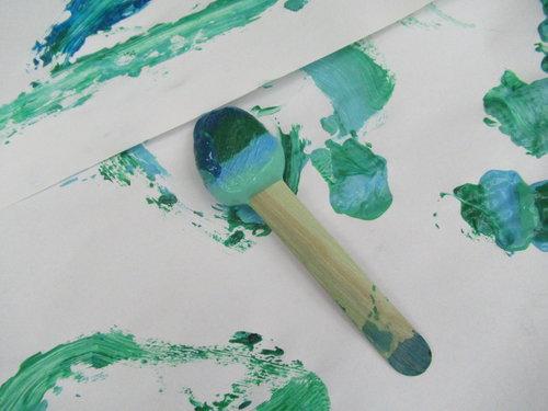 Paint Popsicles -