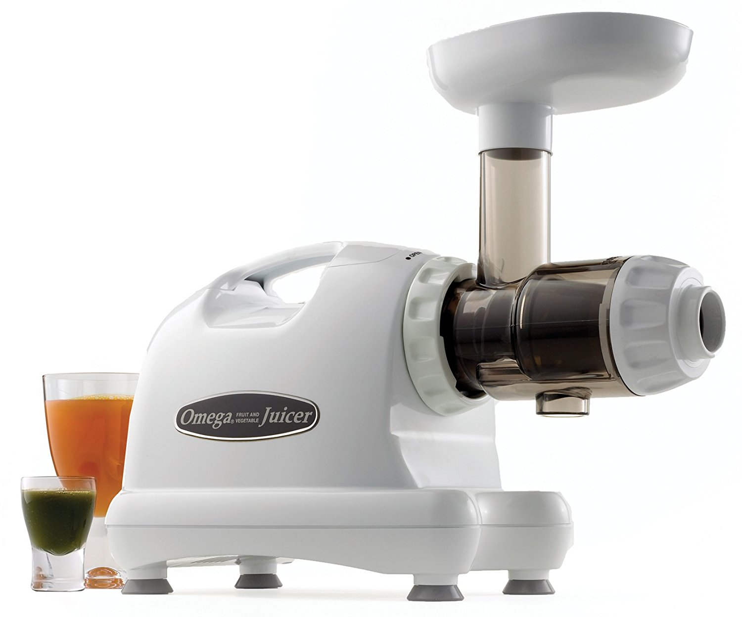 OMEGA JUICER   This is the juicer I've happily used since 2012! While I highly recommend the 8004 model it's been discontinued though still available to purchase. Try newer models if it's gone!
