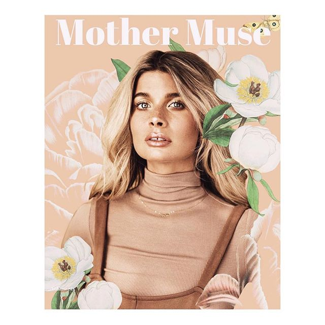 Cover story out for @mothermusemag 🌸 Shot by @lizrosa beauty @allisongirodaymakeup featuring @sarahshabacon of @bohemegoods (wearing @oakandfort ) styling by me and assisted by @derekthebird