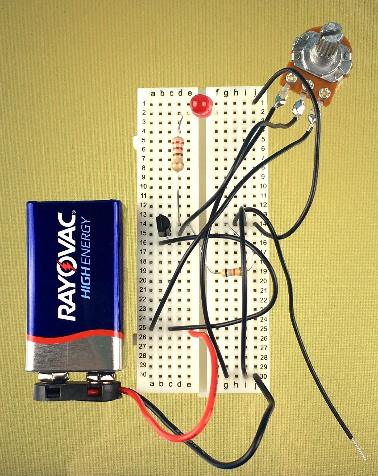 The Basics Lab 18 - dc to dc power supply