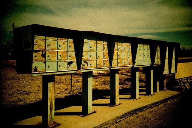 mail boxes, Salton Sea. Lomo LCA+, cross-processed slide film. #analogphotography #analoguephotography #analog #analogue #filmphotography #film #filmisnotdead #ishootfilm #filmcamera #lomo #lomography #lomographyfilm #lomolca #california #exploremore #explorecalifornia #neverstopexploring #saltonsea #abandoned #abandonedplaces #abandonedamerica
