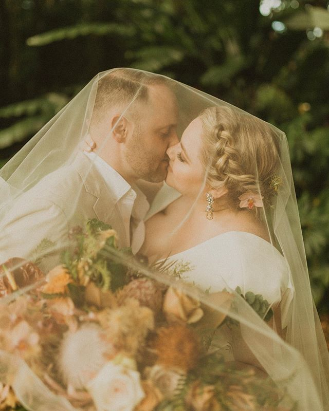 This Hana jungle wedding was the most beautiful day, pretty much my dream wedding. All the details @opihilove  created were insane! If you have ever been to Hana you know the magical feeling you get when your out there! ✨🥰