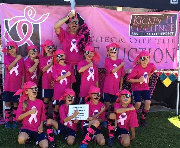 2015 Power of Pink Runner Up, GU9 Encinitas Express