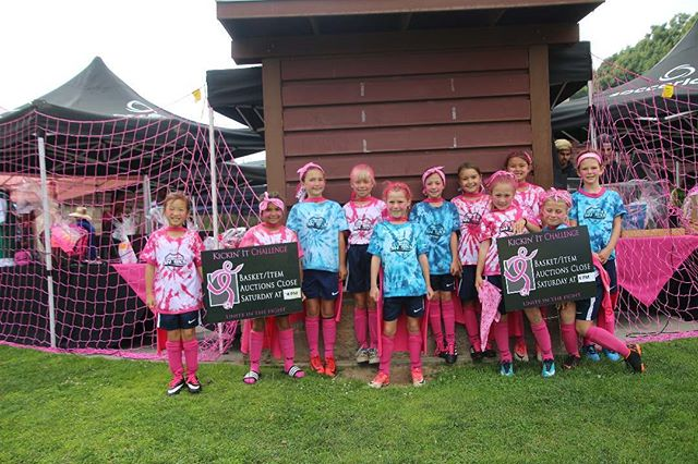 G2010 Del Mar Sharks - Wall (?) team are fighting cancer.  #kickinitchal #komensd
