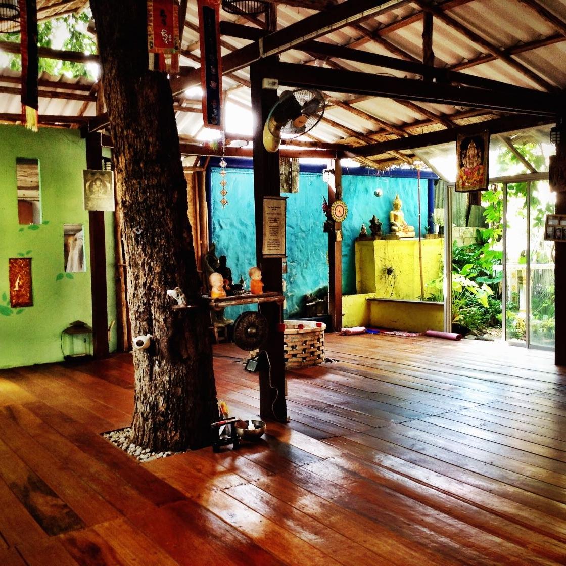 Blue Garden yoga studio