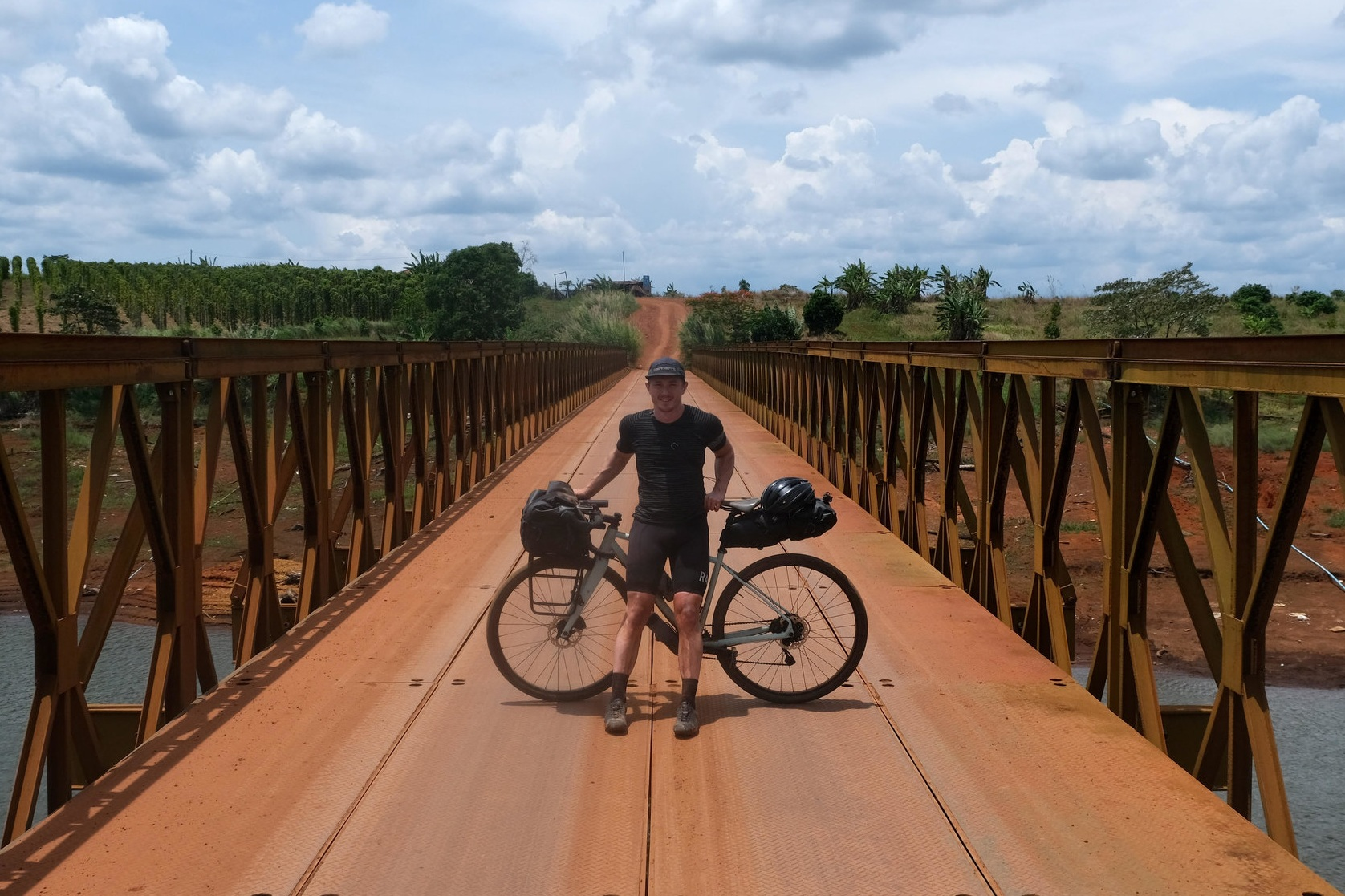 'Lightweight' - Riding across Cambodia with minimal possessions