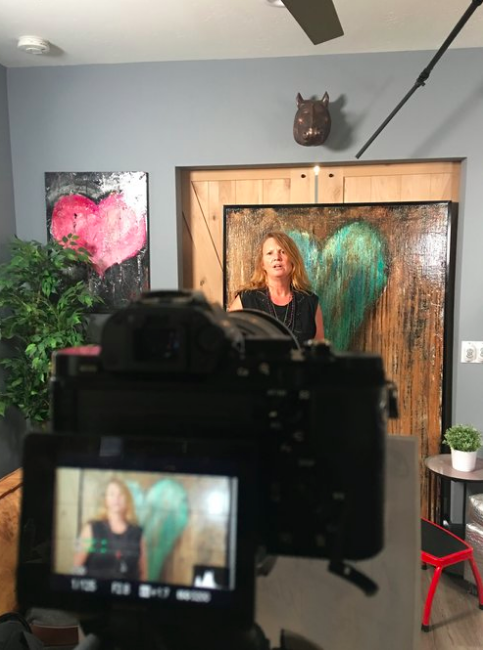 Shooting for an Art Grant