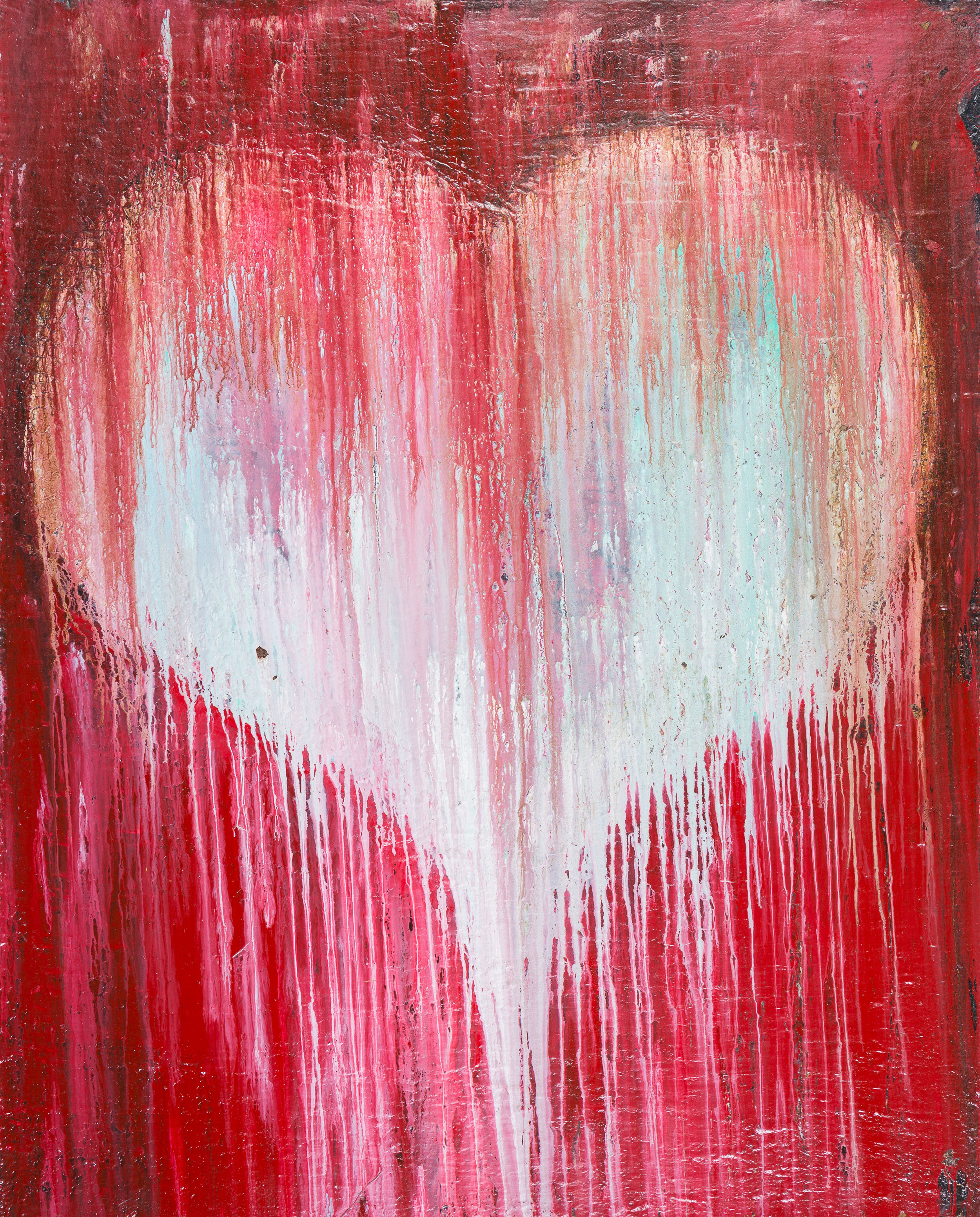 """RED HEART  60"""" x 48"""""""