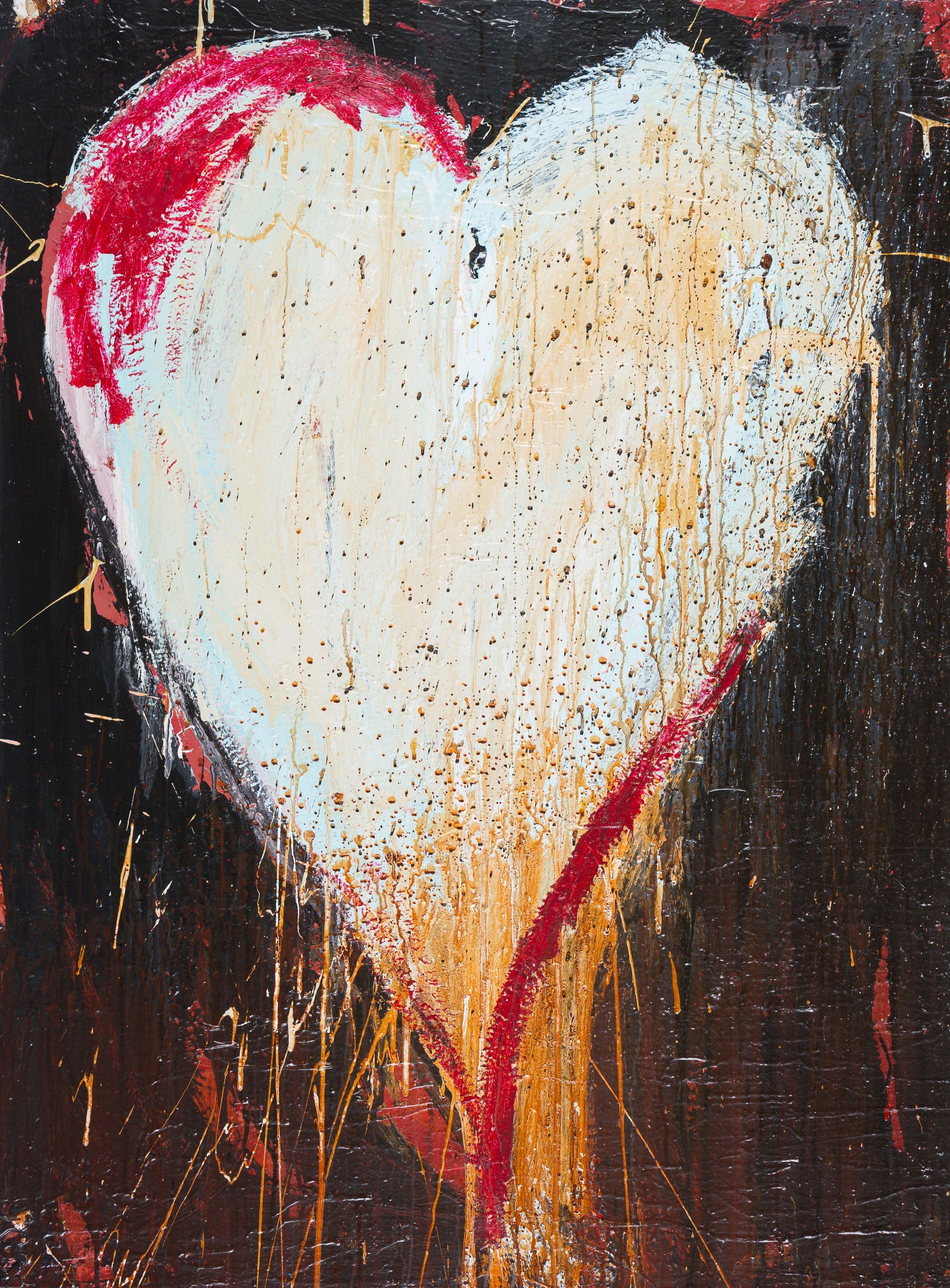 """HEART 84""""x 48"""""""