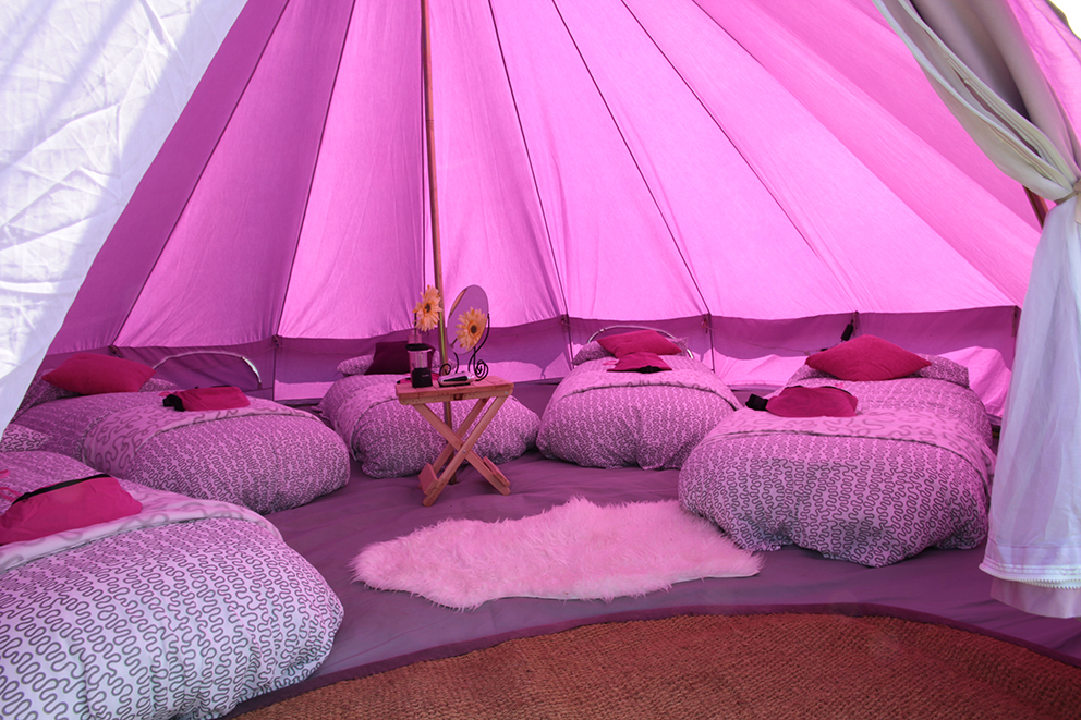 Bay Lily Tents Glamping Fiesta Fields