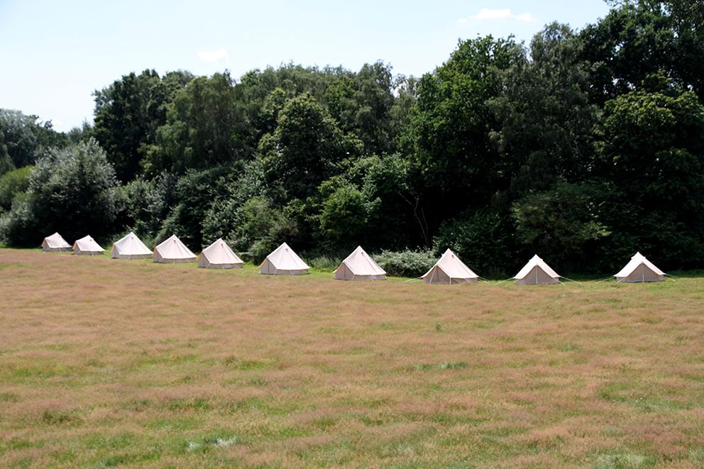 Lulu Bell Tents at Hidden Valley Fiesta Fields