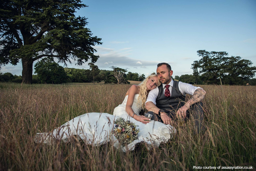 Outdoor wedding at Hidden Valley