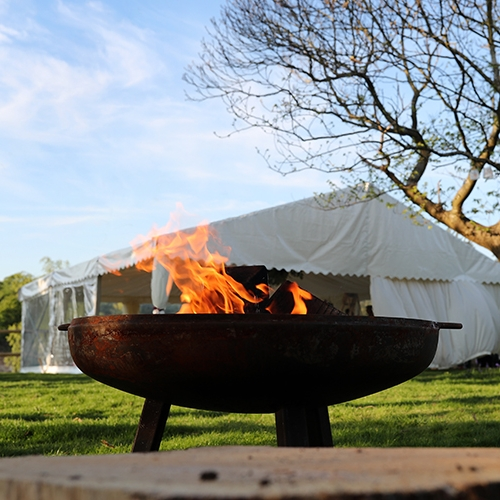 FIREPIT  With 4 bags fire wood and kindling @ £70