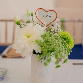 HEART TABLE NUMBER HOLDERS  Twenty @ £10, option to have with hand stamped cards