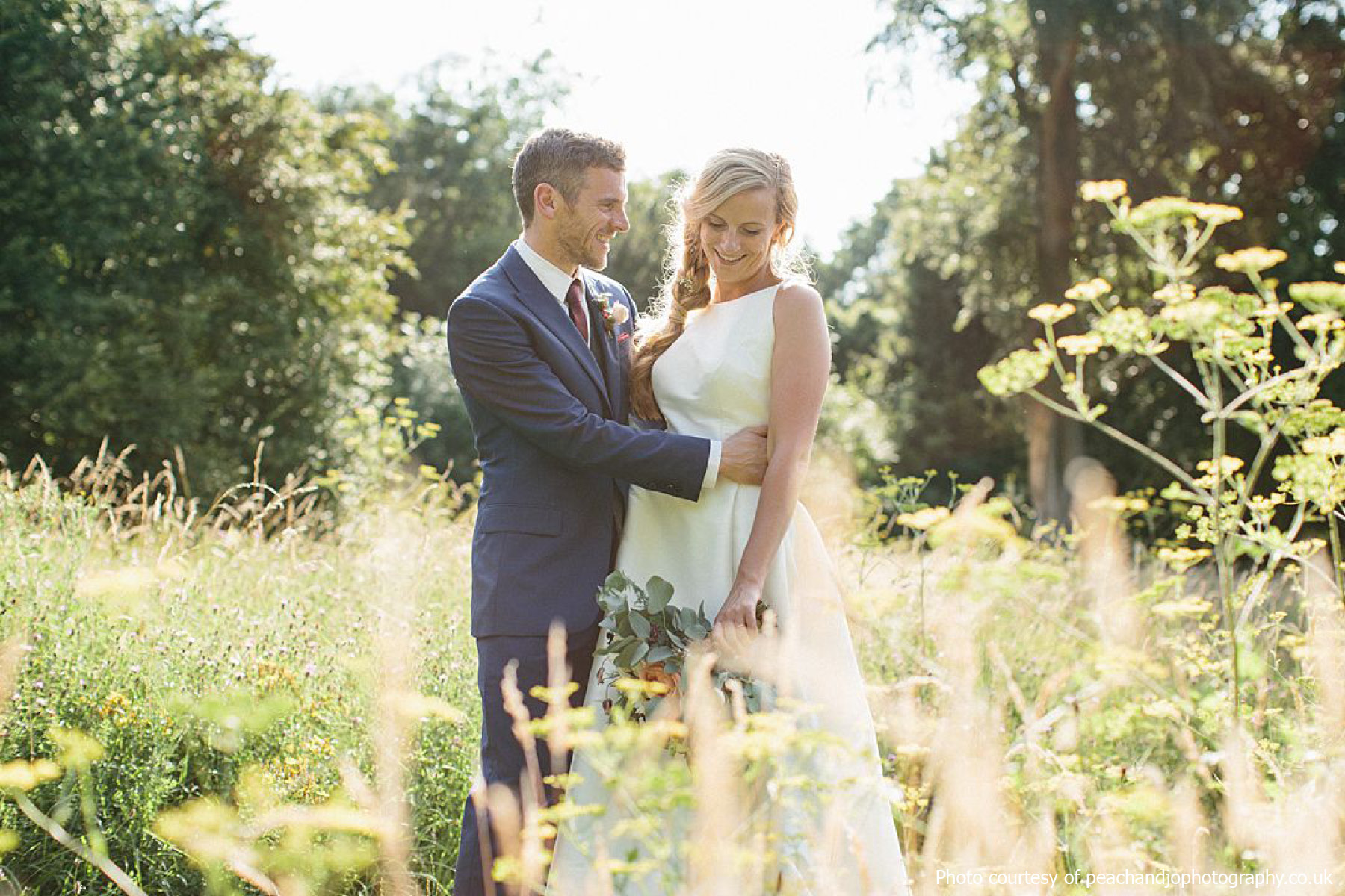Outdoor wedding at Phoenice Fields