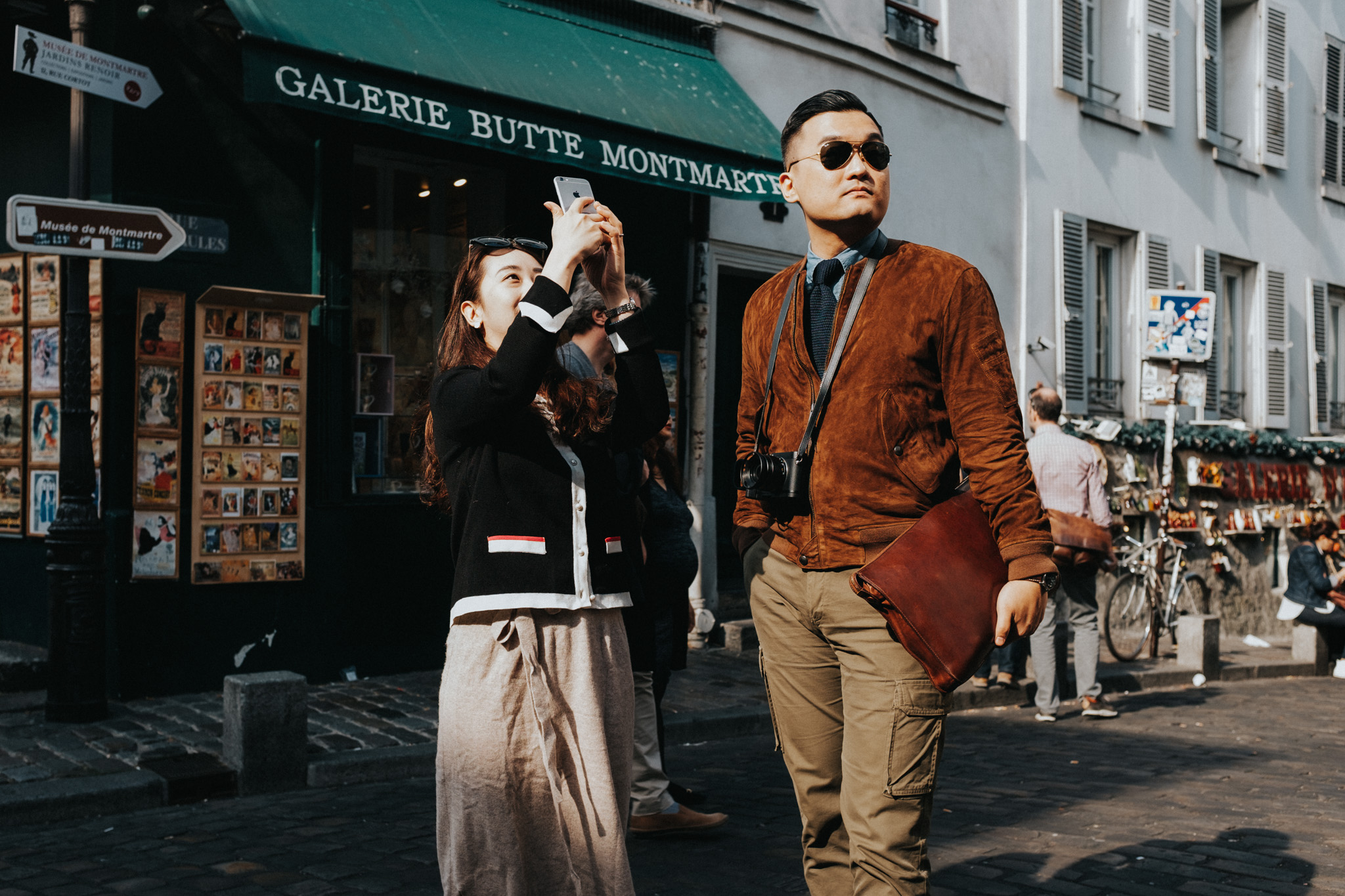 A day in Montmarte - 100 Street Photos from Paris' 18th District