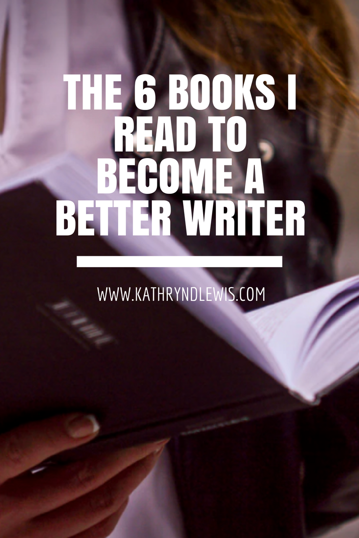 The 6 books I read to become a better writer