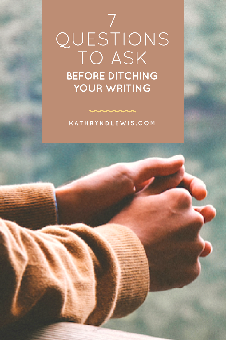 Many writers get far into a project only to toss it. Are you one of them? There's no shame in knowing a piece isn't meant to be; I wish I had a better sense of it for my own work, an inner direction for moving on or digging in. How do you know when to give up on a piece of writing?