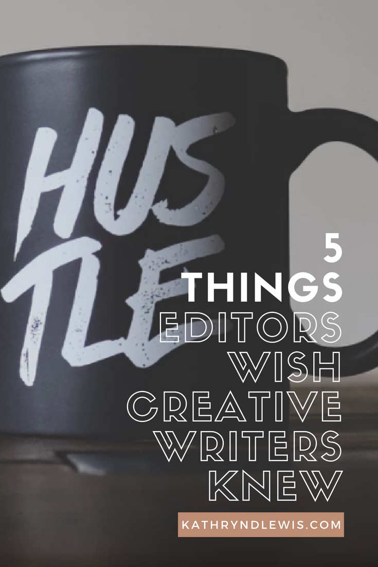 While creative writers rock my socks off, there are five things I wish they understood about our work together to make our projects run more smoothly.