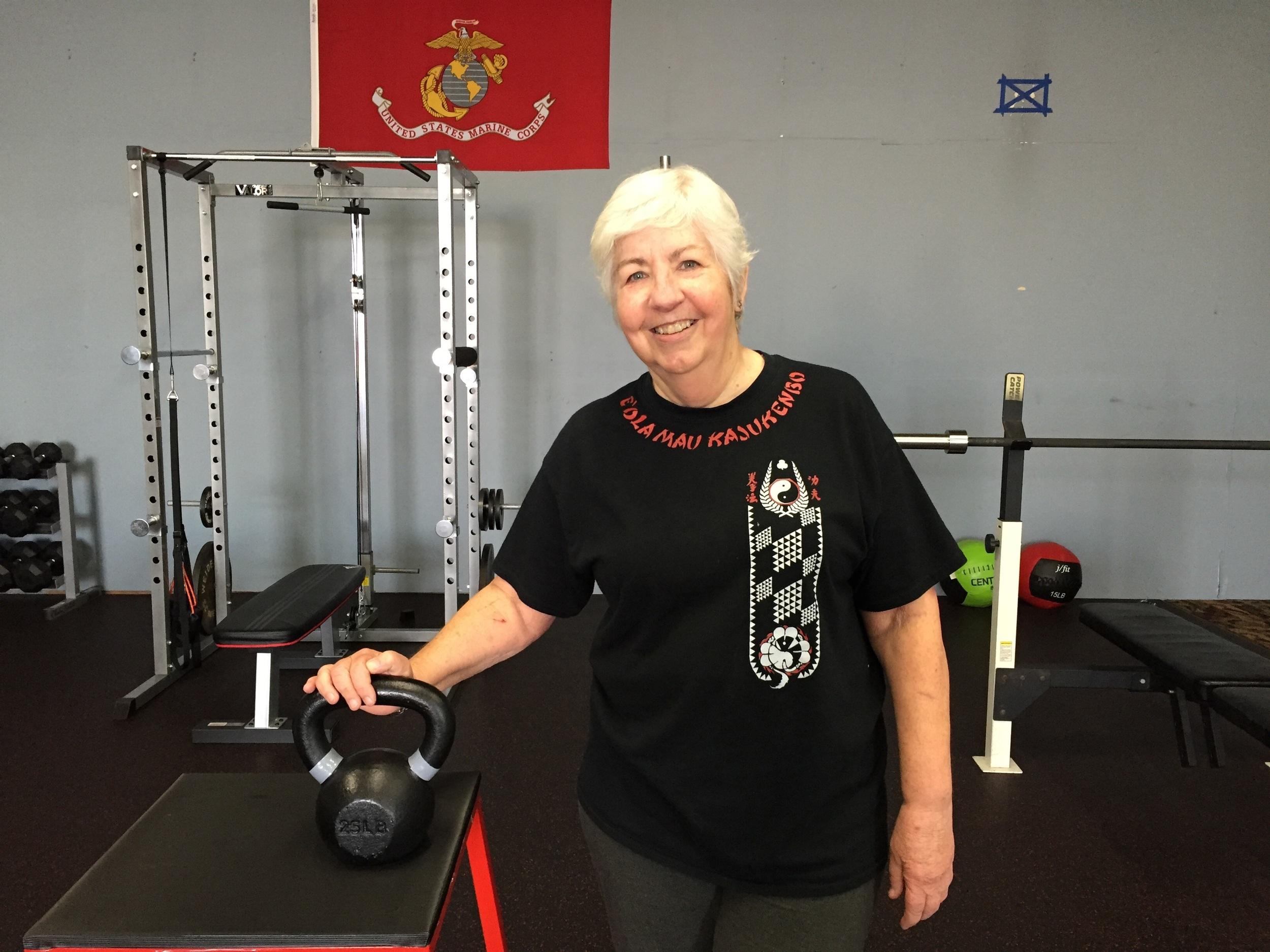 Kettle bell swings for body transformation!