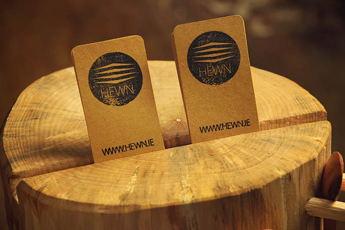 A beautifully simple way to display your business cards
