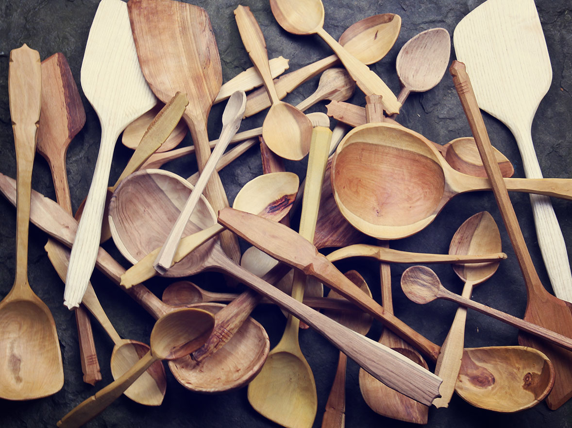 A Pile of Spoons
