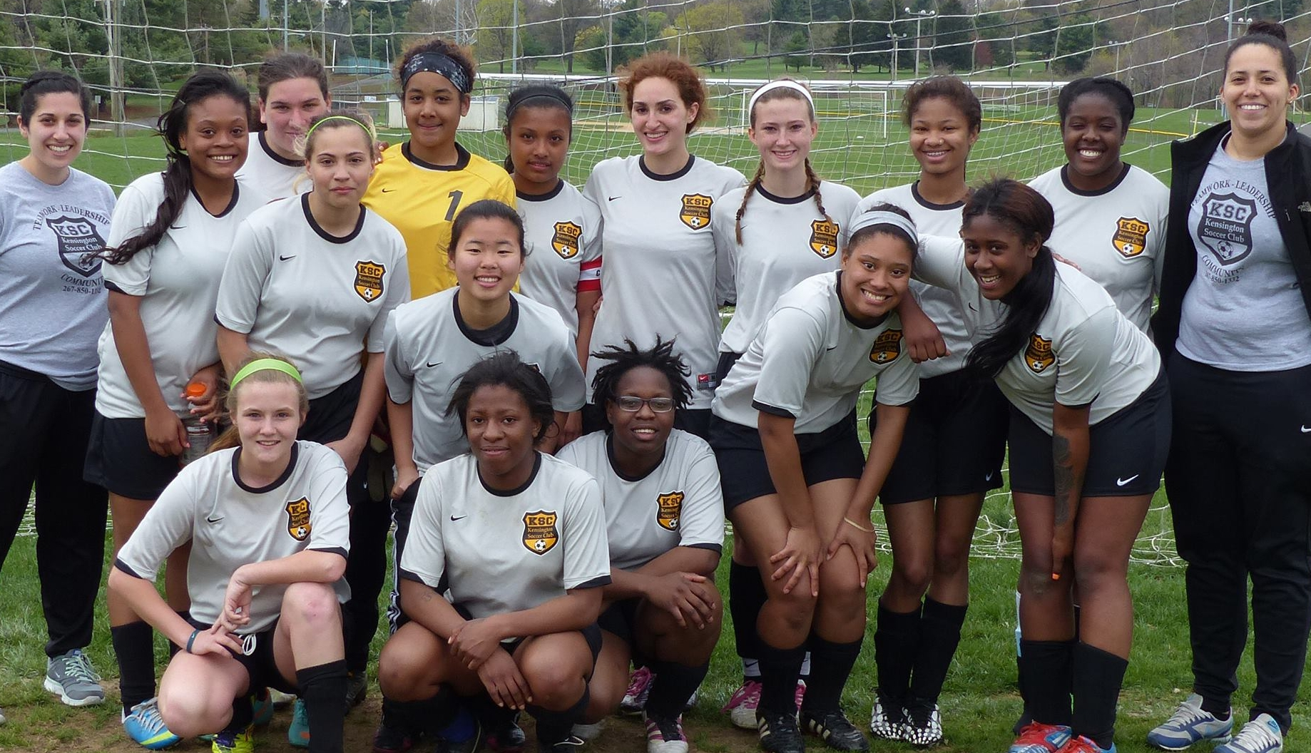 Our first u19 girls full outdoor travel team!